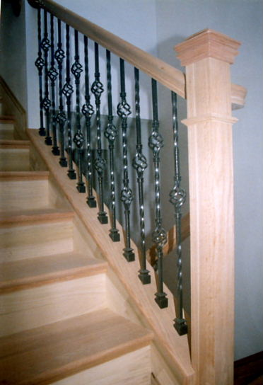 St Louis Stair Amp Wood Works Metal Or Wrought Iron Balusters St Louis Mo