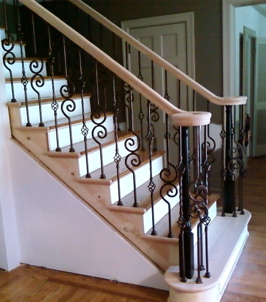 St. Louis Stair U0026 Wood Works,Metal Or Wrought Iron Balusters St. Louis Mo.